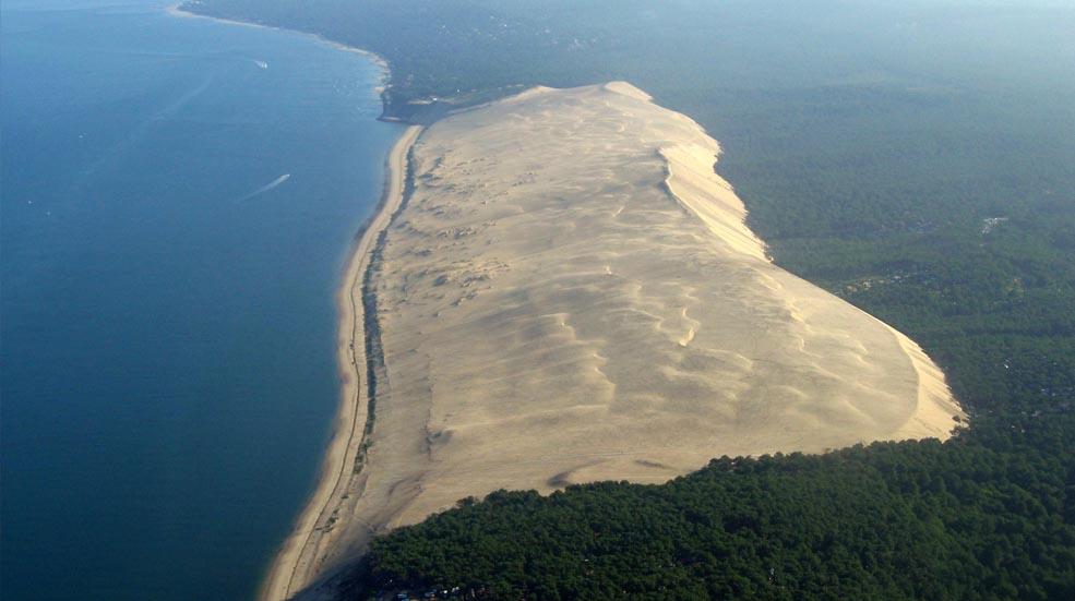 Activités de la région - Dune du pyla